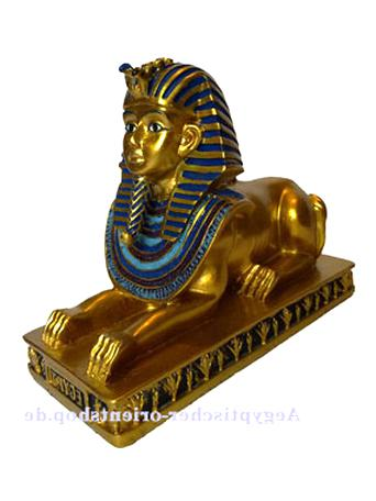 HORUSFALKE  STATUE FIGUR ÄGYPTEN ÄGYPTISCHE SKULPTUR DEKO DEKORATION FAN PHARAO