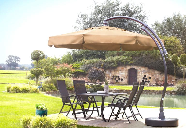 Ampelschirm Sun Garden gebraucht kaufen! Nur 2 St. bis -75 ...