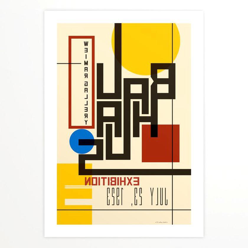 Bauhaus Poster Gebraucht Kaufen Nur 3 St Bis 65 Gunstiger