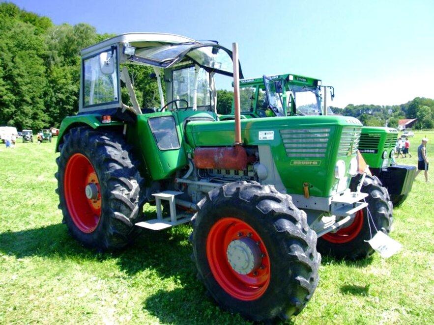 Traktor Schlepper Allrad Frontlader gebraucht kaufen! Nur