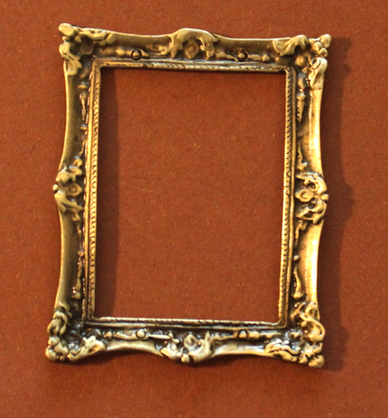 Empire Bilderrahmen Fotorahmen Silber Rahmen Biedermeier Rechteckig Stil Antik