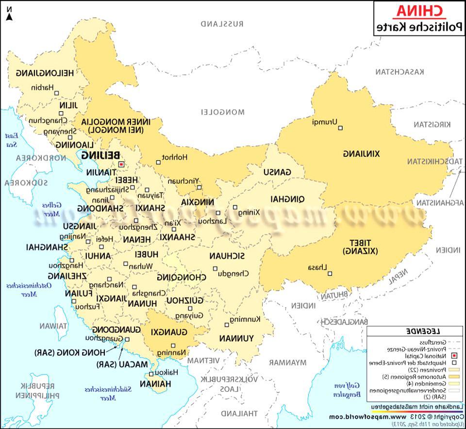 china karte gebraucht kaufen