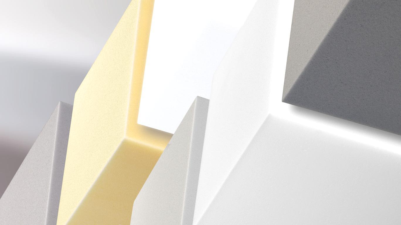 Akustik Tafeln 100 x 50cm aus BASOTECT® DIN4102 B1 Aborber Schallschutz Dämmung
