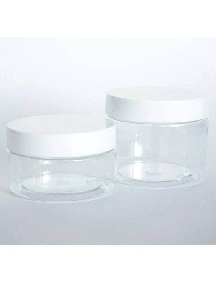 20 leer Glastiegel Weiß 15 ml Tiegel Cremedose Glas Kosmetikdose Cremetiegel