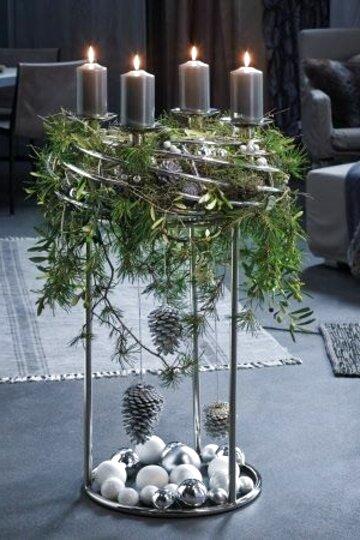 Adventskranz Ständer ARBIA Gusseisen Dekoständer Kranzhalter 60cm Dekoration