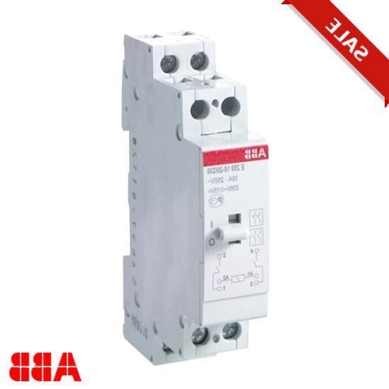 1S+1Ö,12V DC Relais E259 ABB Installationsrelais E259R11-12DC LC