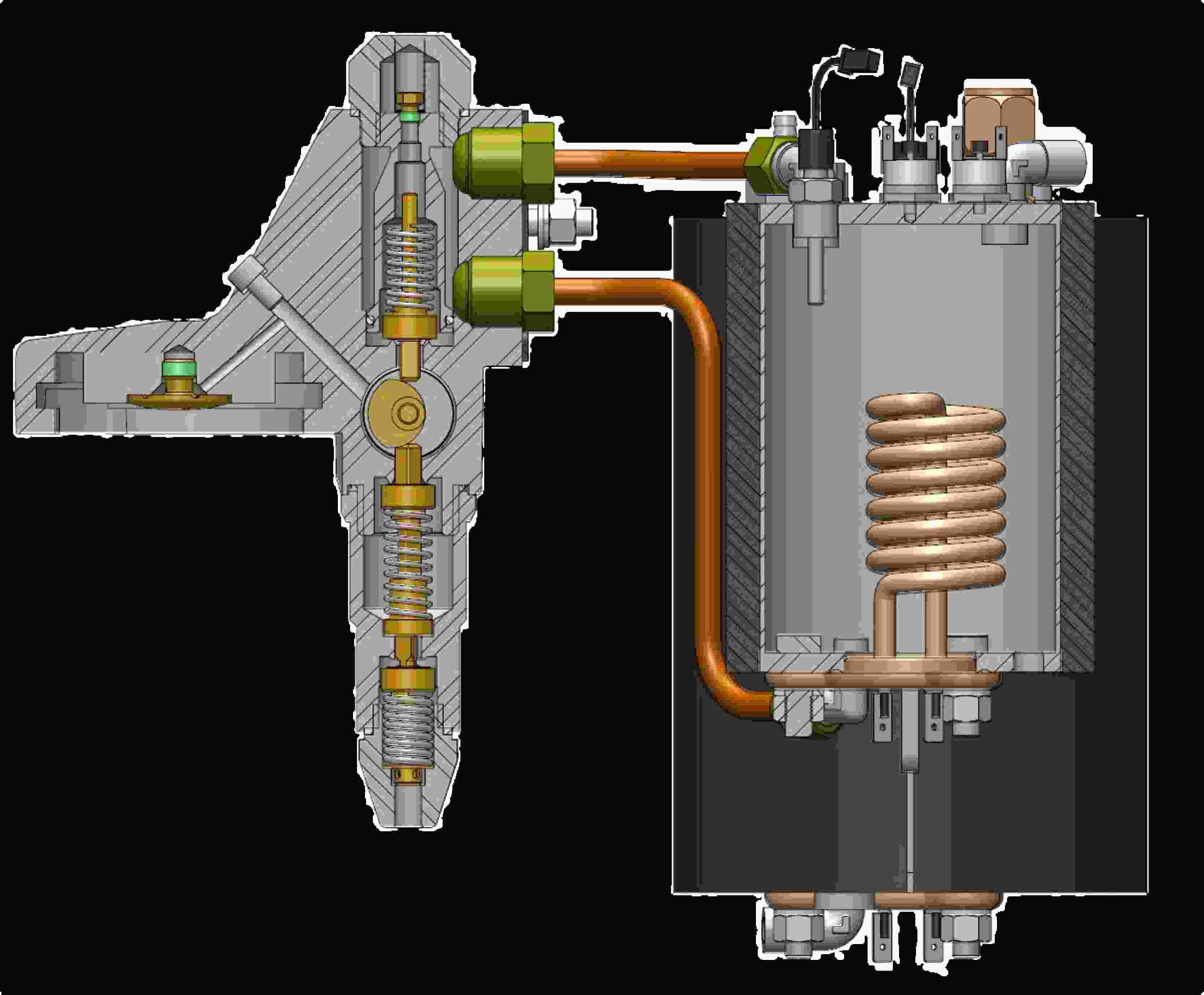 Siebträgerdichtung ø73x57x8,0mm passend für Isomac mit E61 Brühgruppe
