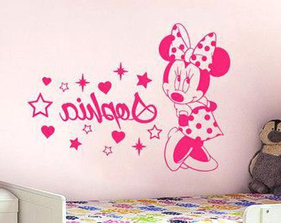 Minnie Mouse Wandtattoo Gebraucht Kaufen Nur 2 St Bis 65 Gunstiger