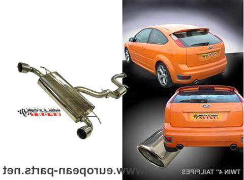 Montagesatz DAW, DBW 1.8 16V inkl Auspuffanlage Auspuff Ford Focus