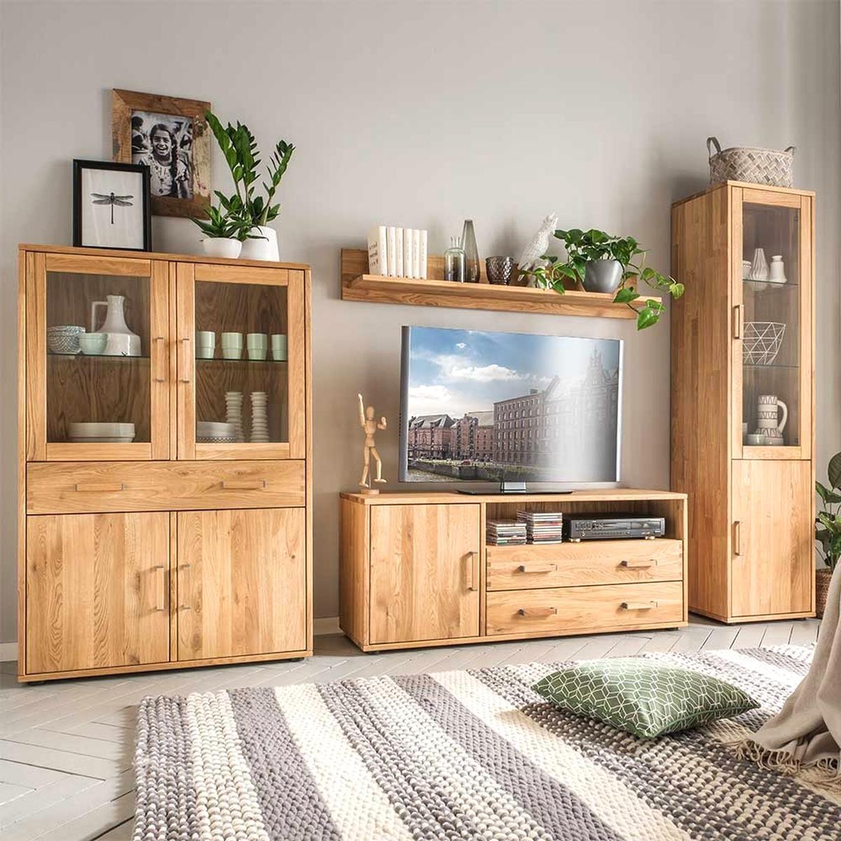 Wohnzimmer Mobel Eiche gebraucht kaufen! Nur 10 St. bis -10% günstiger