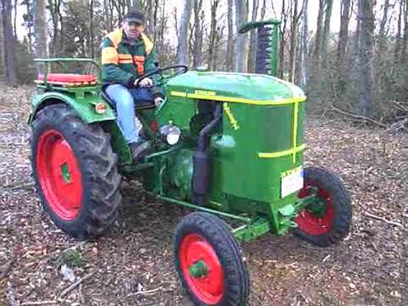Achsschenkelbuchse Deutz F 1L 514 //51 Schlepper Traktor Trecker Knubbeldeutz