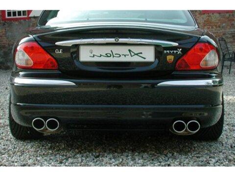 KLARIUS Mitteltopf NEU JAGUAR X-TYPE CF1 Estate 2.5 3.0 V6 Allrad Auspuff