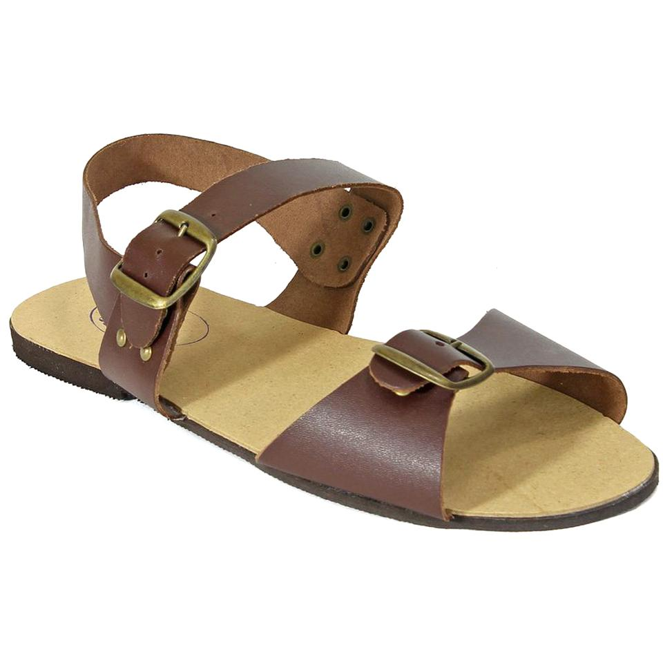 Details zu Sandalen Indien Schuhe Natur Leder Jesuslatschen Hippie Retro Vintage Chappels C