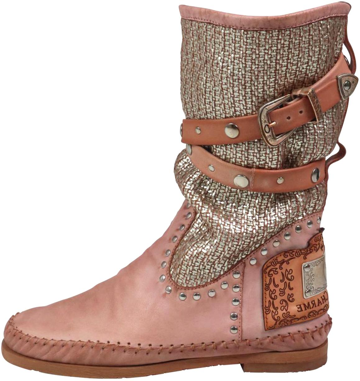 boots leder vintage gebraucht kaufen