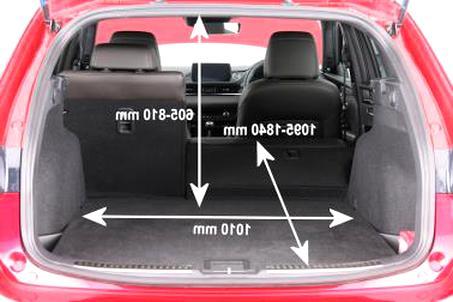 Hatchback 2002-2008 Kofferraumwanne mit Anti-Rutsch für Mazda 6