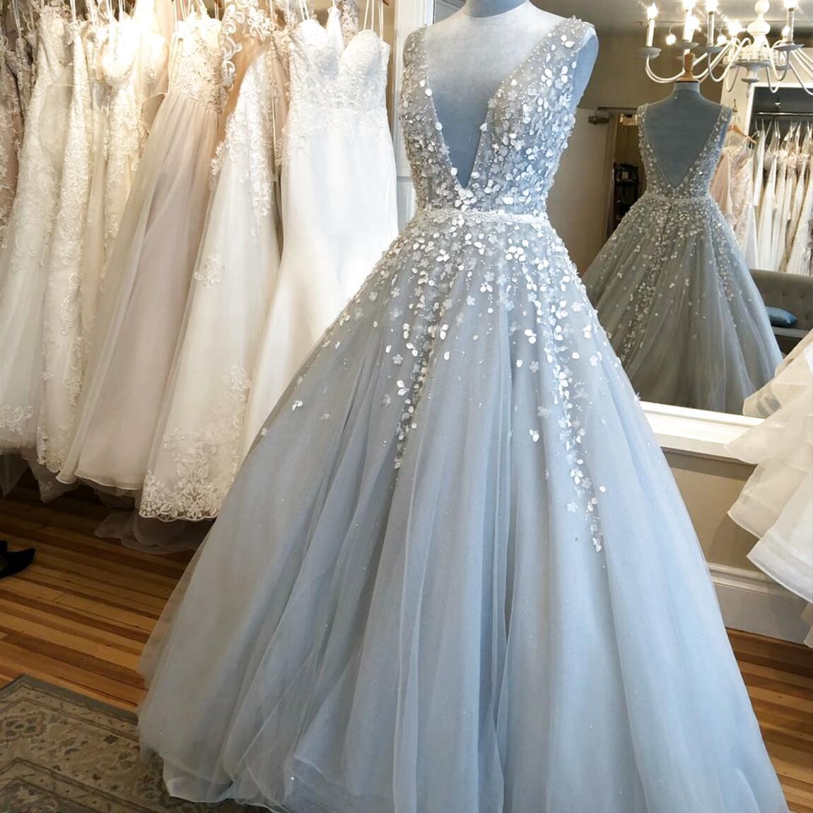 Abendkleid Ballkleid Brautjungfern Party Kleid hel