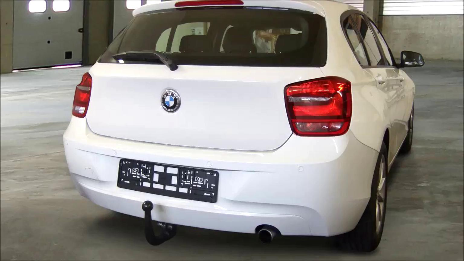 AHK ES7 BMW 1er E81 E87 abnehmbar vertikal Anhängerkupplung Anhängevorrichtung