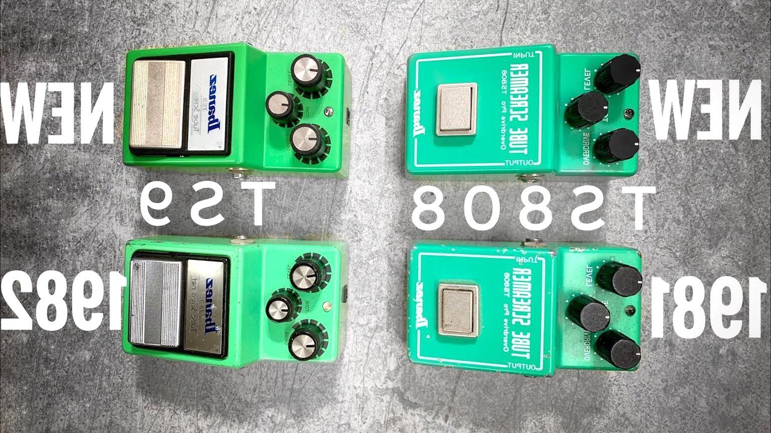 ibanez tube screamer ts 808 1982 gebraucht kaufen
