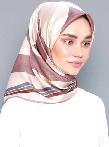 HBselect 16 stk Bandana Seidentuch Halstuch damen mehrfarbige Kopftuch aus Satin 50*50cm