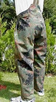 Originale Bundeswehr Regenhose Goretex Watthose Anglerhose N/ässeschutz Flecktarn oder Oliv Verschiedene Gr/ö/ßen