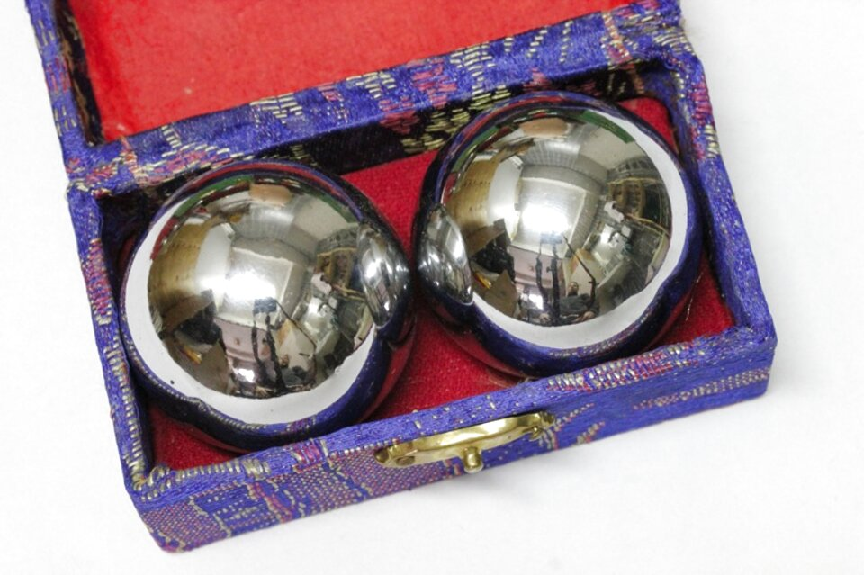 qi gong klangkugeln gebraucht kaufen