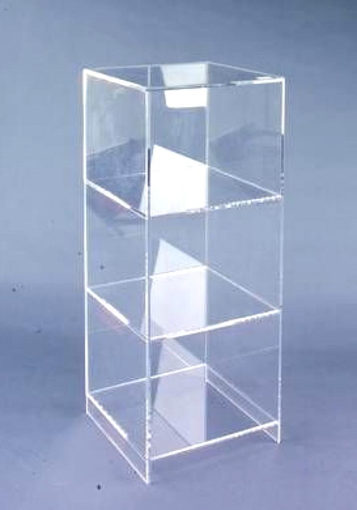 Material Acryl klar Ständer aus Acrylglas transparent CD