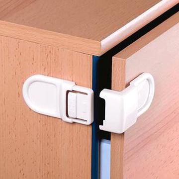Reer Schrankschloss für Doppeltüren Neu Kindersicherung Schrank 2x Packungen