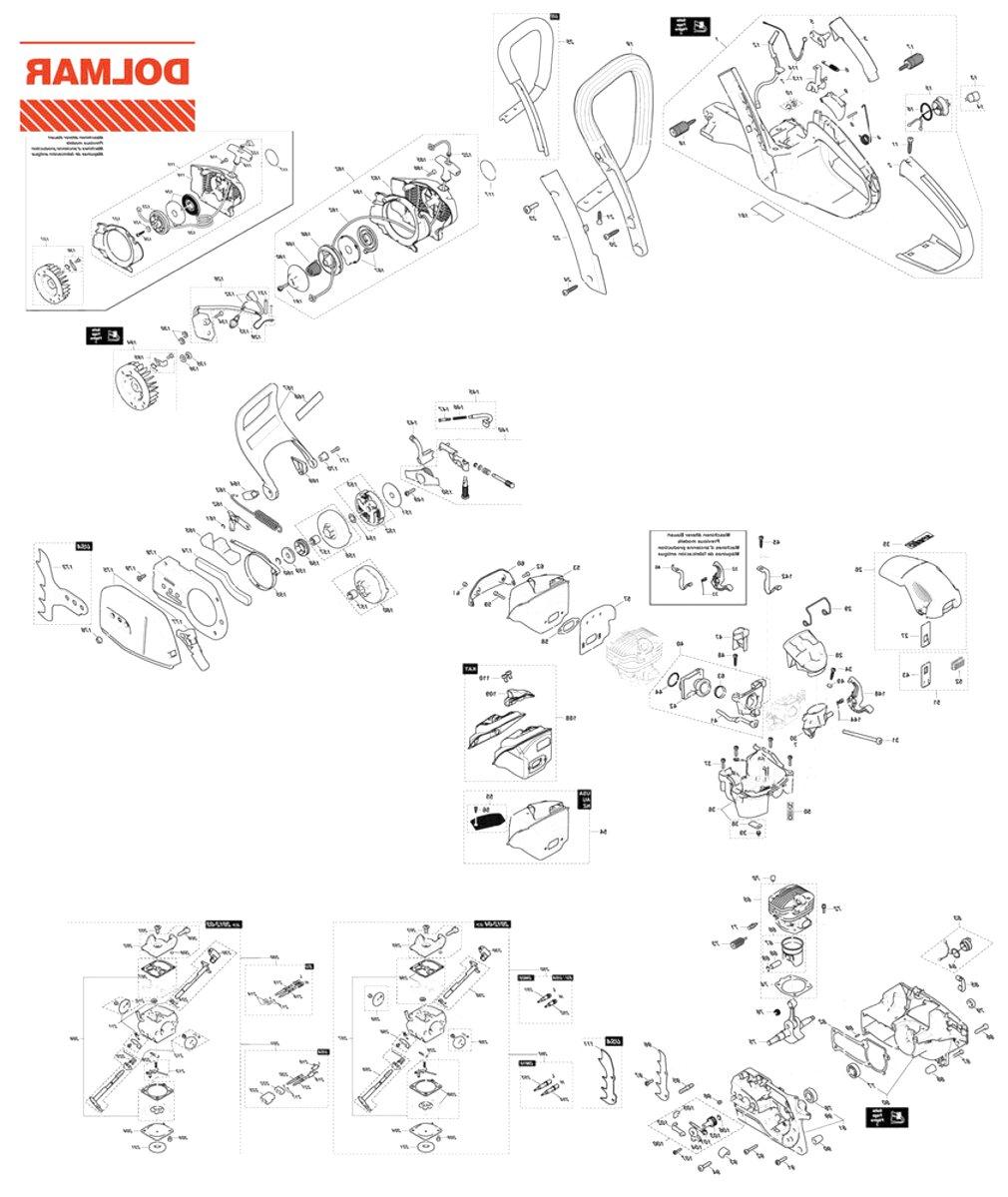 Bremsband PS 4605 Original Ersatzteil Dolmar Säge PS 550 PS 5000