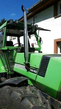 Auspuff Emailiert für Traktoren Fahr
