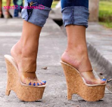plateau high heels wedges gebraucht kaufen