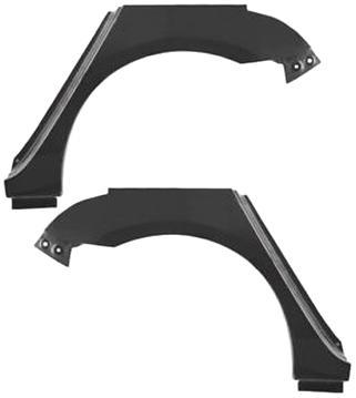 RADLAUF REPARATURBLECH HINTEN LINKS Mazda Premacy 4//5-Trg