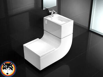 Waschbecken Toilette gebraucht kaufen! Nur 3 St. bis -65 ...