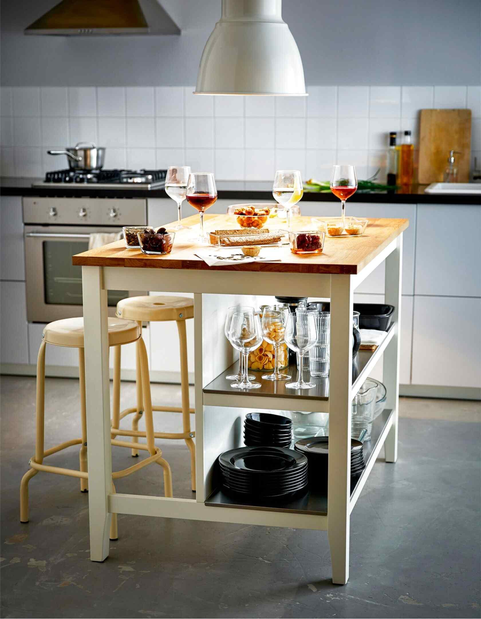 Kucheninsel Ikea gebraucht kaufen Nur 4 St. bis  75 günstiger