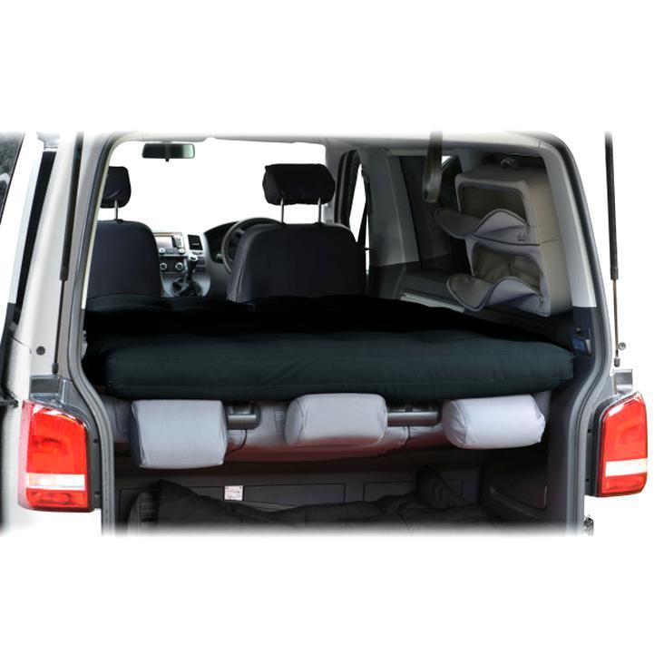 Visco Matratze VW Caddy Kombi Life 8x120x200 Schlafauflage Bett Klappbar H2+H3