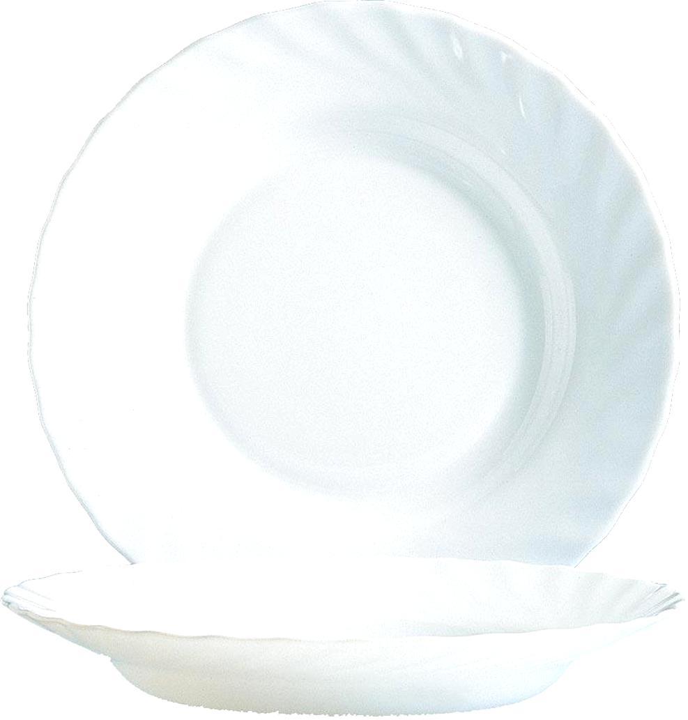 Gebrauchsspuren arcoroc Speiseteller ein ! 24 cm blaues Glas Gebraucht,m