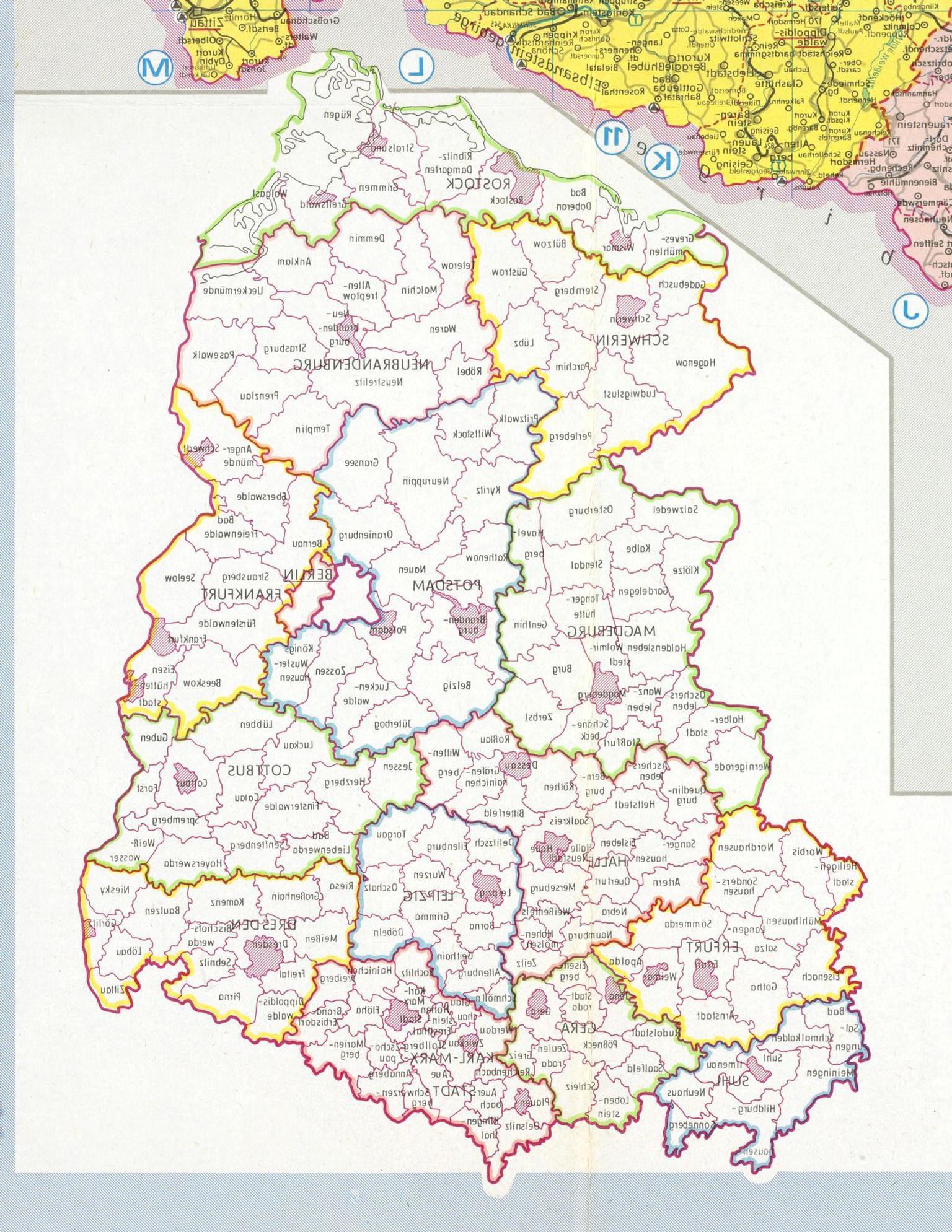 Landkarte Ddr Gebraucht Kaufen Nur 3 St Bis 70 Gunstiger