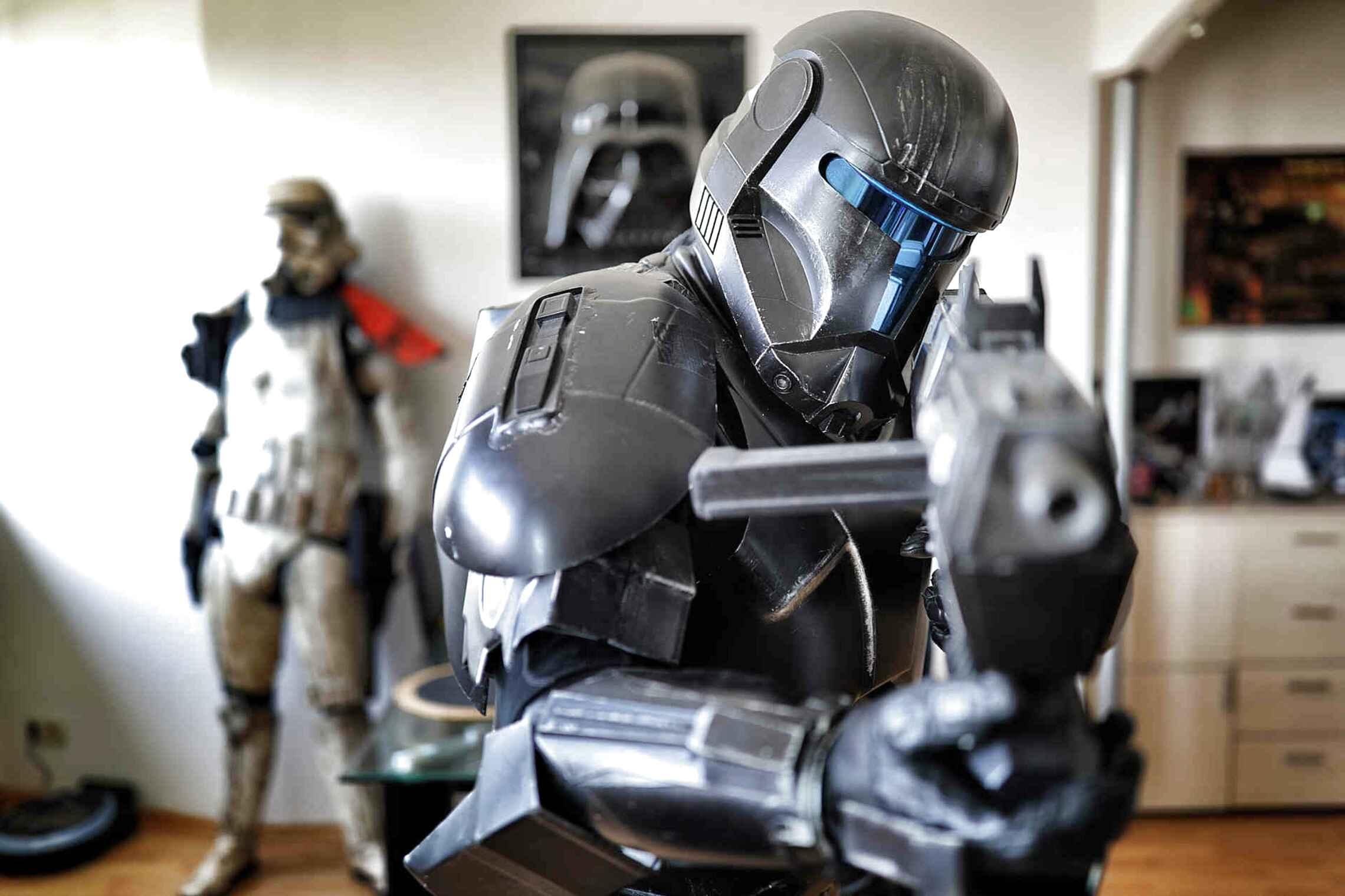 Lego® Star Wars Minifiguren Zubehör 1x Armor Schulter schwarz Rüstung  Wolffe