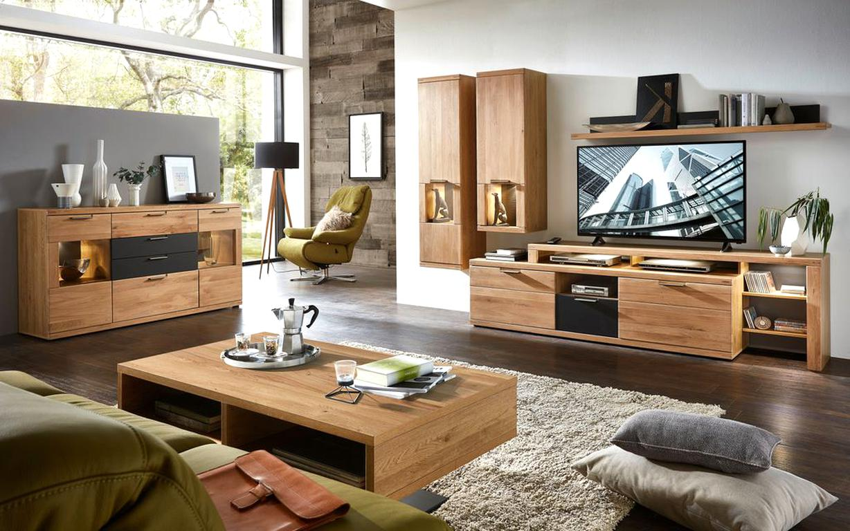 Wohnzimmer Eiche gebraucht kaufen! 10 St. bis -10% günstiger
