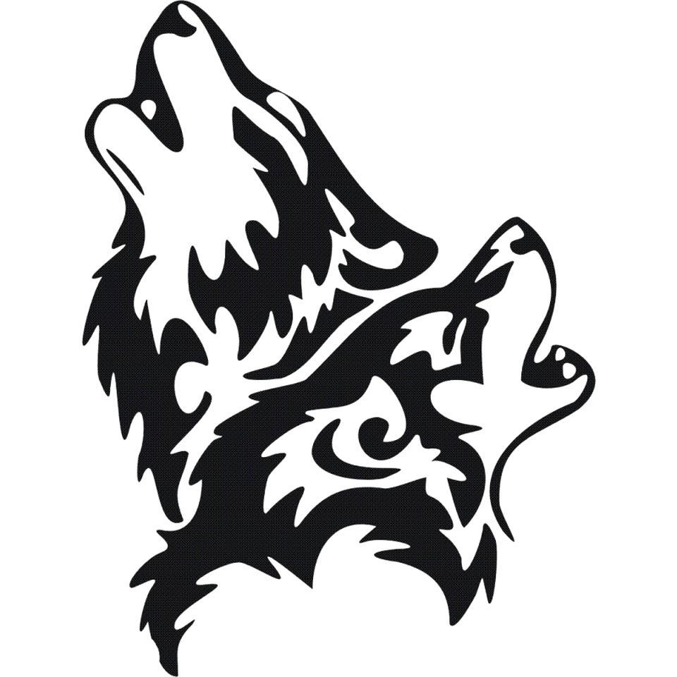 wolf aufkleber gebraucht kaufen