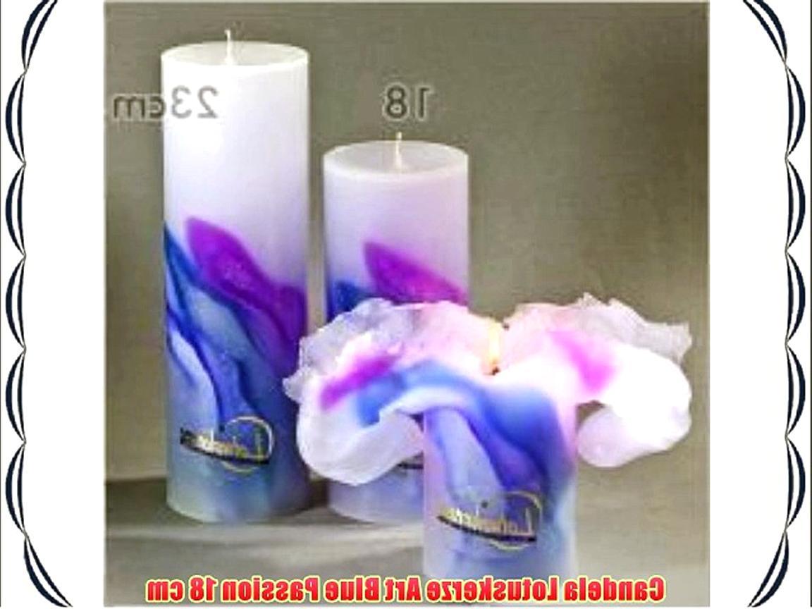 Candela Lotus-Kerze ART Fire 18 cm