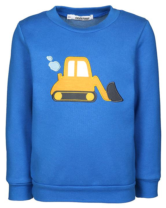 Schnizler Baby-Jungen Sweat-Shirt Nicki Traktor Langarmshirt